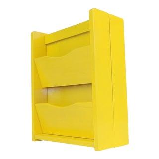 Yellow Hanging Mail Sorter