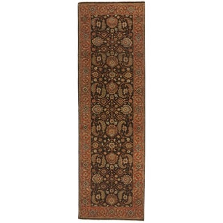 Indian Handmade Runner Rug - 3'x 9'11""
