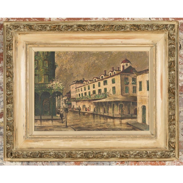 """Image of """"New Orleans """" Oil Painting by George Orry-Kelly"""