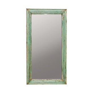Green Wall Mirror Frame