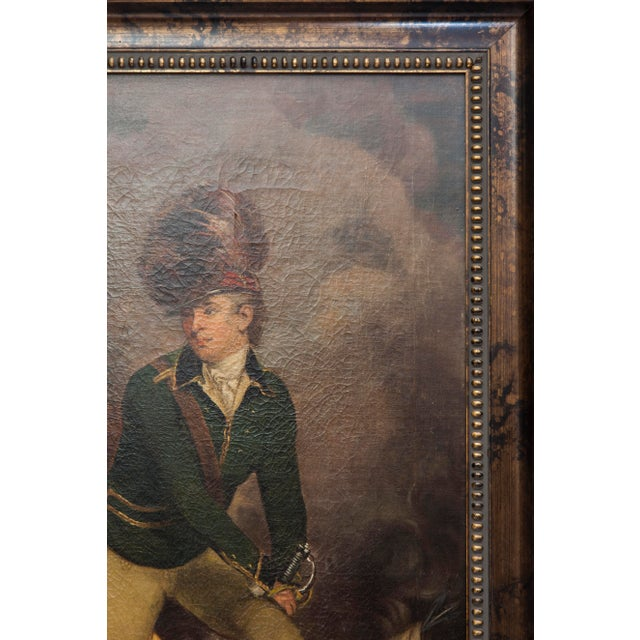 VIntage Reproduction Officer Painting - Image 4 of 10