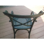Image of Restoration Hardware Madeleine X-Back Chairs, Pair