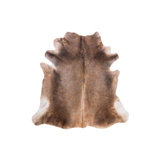 """Natural Cowhide Area Rug - 6'3"""" x 5'7"""""""