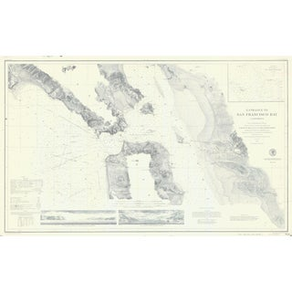 1859 Nautical Map of SF Bay Print