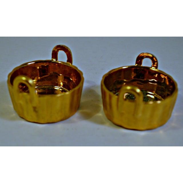 A Pair of Antique Nippon Porcelain Open Salt Cellar - Image 7 of 8