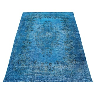 Over-Dyed Turkish Rug - 6′3″ × 9′3″