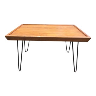 Mid-Century Modern Wood Coffee Table