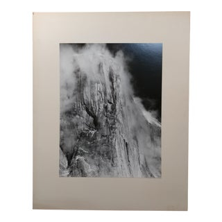 El Capitan Yosemite Valley 1960s-Original Silver Gelatin-Liliane De Cock-Signed