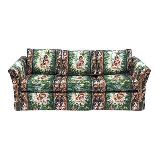 Hollywood Regency Moroccan Tropical Elephant Sleeper Sofa