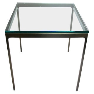 Modern Brueton Occasional Table in Bronze