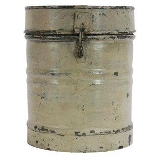 Vintage Cream Storage Container