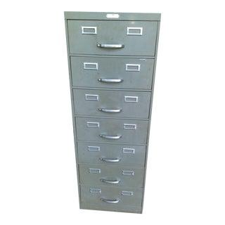 Seven Drawer Steel Age Filing Cabinet