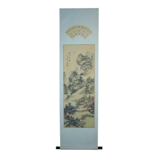 Japanese Scenery Scroll