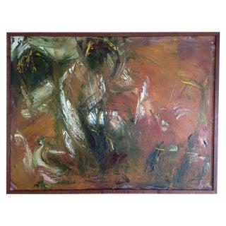 Original Oil Painting - Tangent