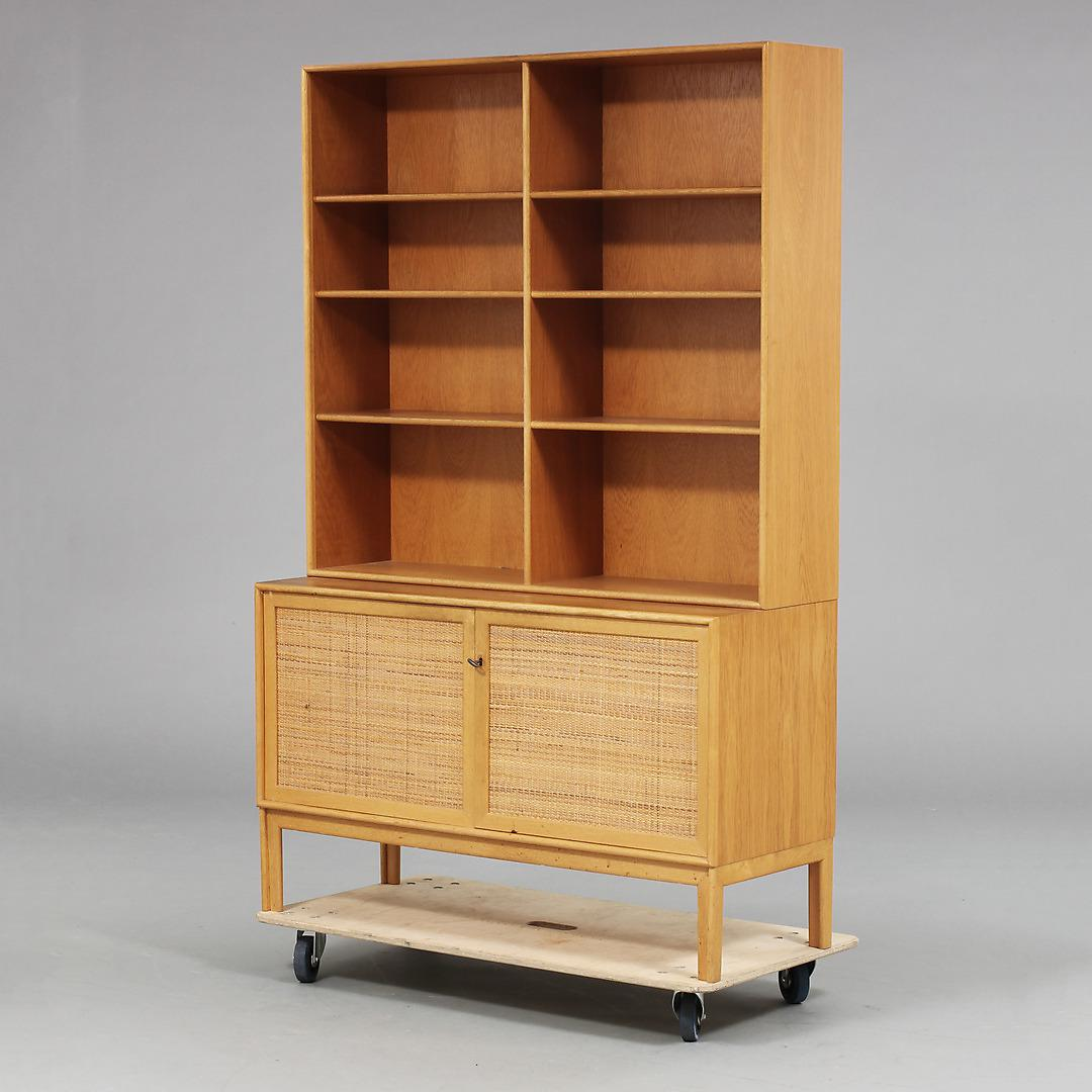 swedish midcentury modern book cabinet by alf svensson image 4 of 6