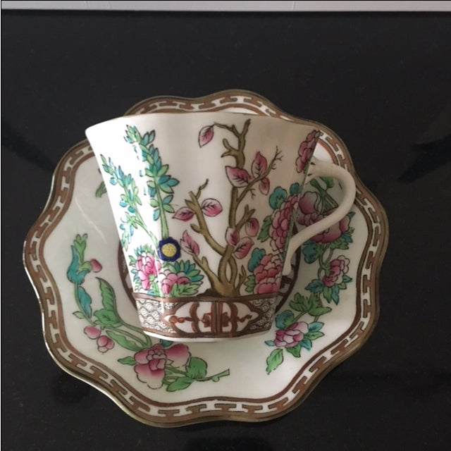 Vintage Coalport Bone China Tea Cup and Saucer Set - Image 6 of 7