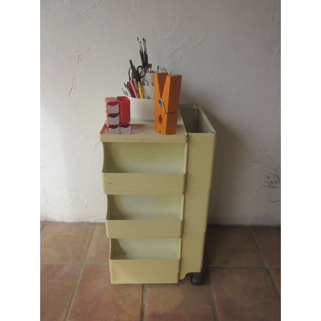 Mid Century Modern Taboret Cart Trolley - Image 9 of 9