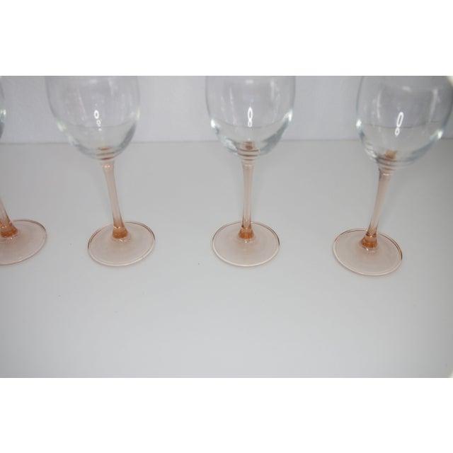 Image of Blush Crystal Stemware - Set of 4