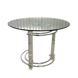 Vintage Mid-Century Modern Lucite Side Table