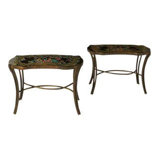 Phillip & Kelvin Laverne Madame Pompadour Tables