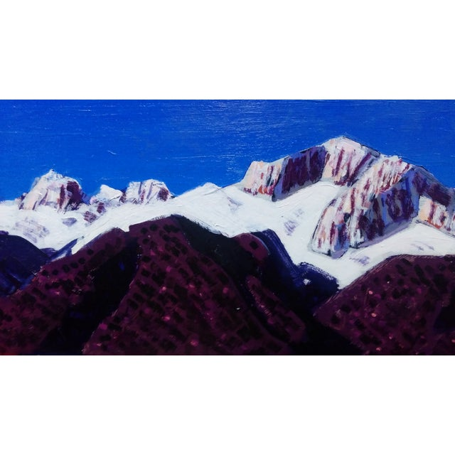 "Conrad Buff Vintage ""Sierra Mountains"" Painting - Image 6 of 9"