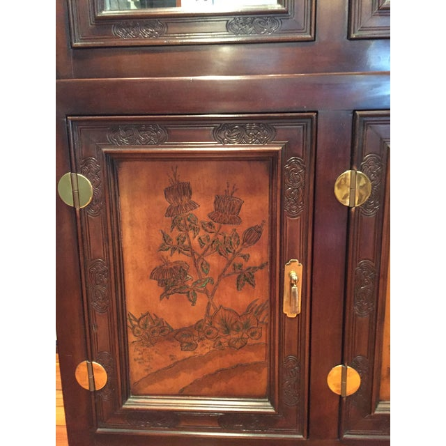 Bernhardt Credenza and China Cabinet - Image 6 of 7