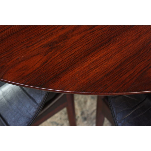 Six-Star Series Rosewood Table by Arne Jacobsen for Fritz Hansen - Image 6 of 10