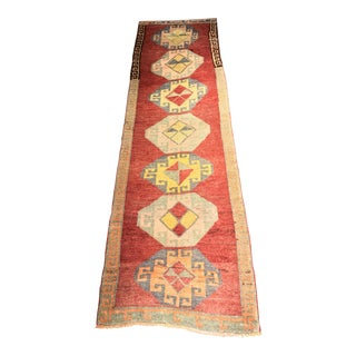 "Bellwether Rugs Vintage Turkish Oushak Runner - 2'10"" x 9'7"""