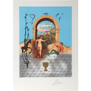"""Salvador Dali """"Gateway to the New World"""" Lithograph"""