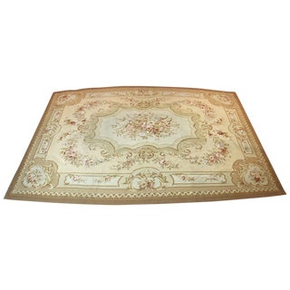 "French Aubusson Tapestry Rug - 10'6""' X 14'5"""