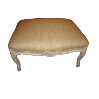Louis XV Style Painted Foot Stool