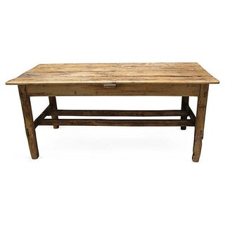 European Pine Farmhouse Table