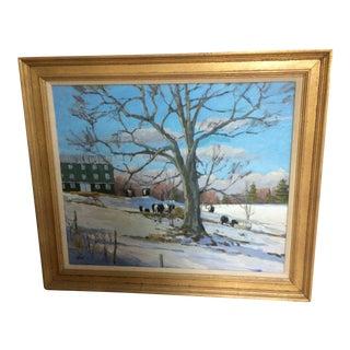 Original Plein Air Oil Painting by Maine Artist