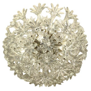 "Breathtaking Large Venini ""Esprit"" Chandelier"