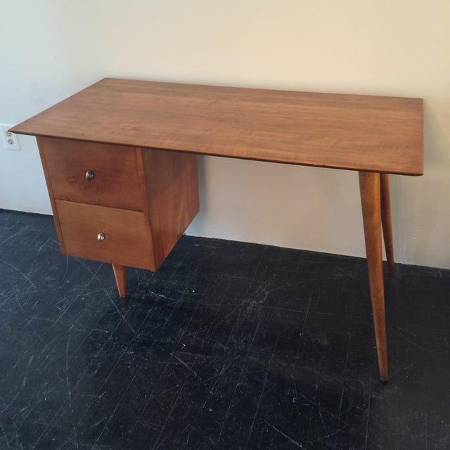 Paul McCobb for Planner Group Maple Desk & Chair - Image 3 of 11