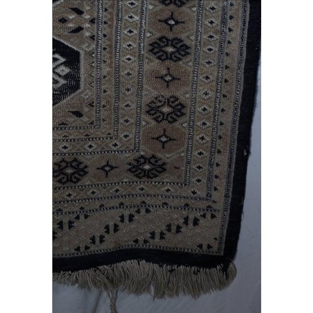 Jaldar Pakistani Wool & Cotton Rug - 2′6″ × 3′ - Image 4 of 4