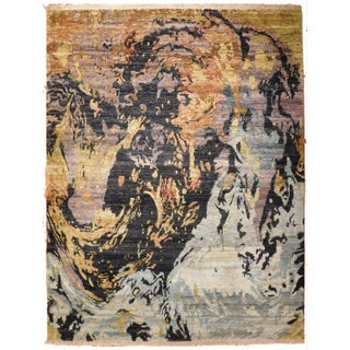 """Modern Hand-Knotted Luxury Rug - 8'9"""" X 11'7"""""""