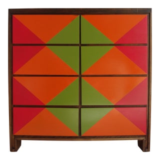 Russel Wright for Conant Ball Nine-Drawer Dresser