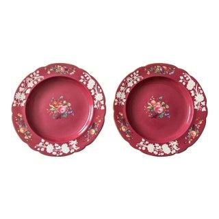 Tiffany & Co. 19th Century Wall Plates - A Pair