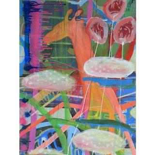 Christine Bush Roman Original Painting - Giraffe I