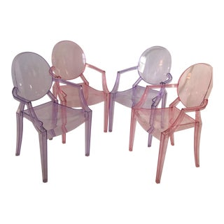 Kartell Lou Lou Ghost Child Chairs - 4