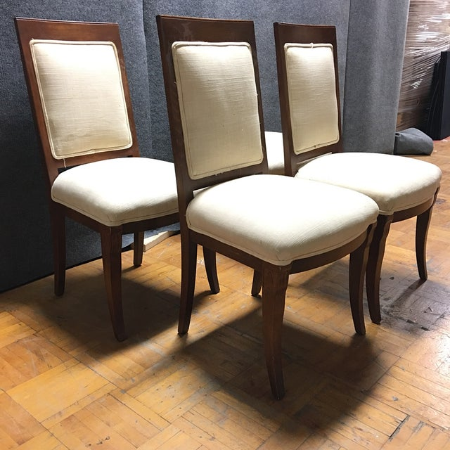 Meyer Gunther Martini Dining Chairs - Set of 4 - Image 2 of 8