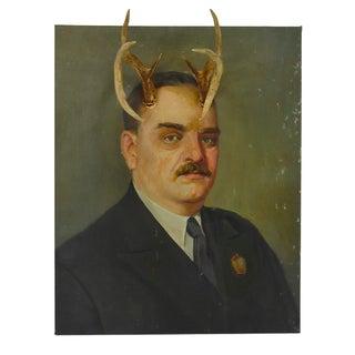 Altered Original Oil Painting