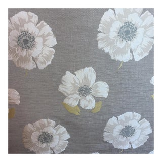 Large Scale Floral Woven Fabric