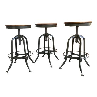 Restoration Hardware Toledo Stools - Set of 3