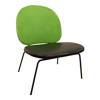 Paul McCobb-Style Mid-Century Danish Lime Green Side Chair