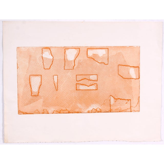 Image of Abstract in Orange by Laurence Kessel