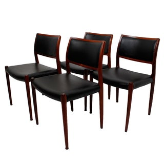Rosewood Niels Moller #80 Dining Chairs - Set of 4