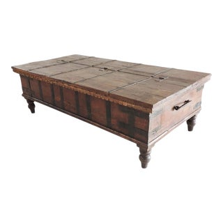 Vintage India Trunk Table