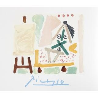 Pablo Picasso Le Modele Dans L'Atelier Lithograph